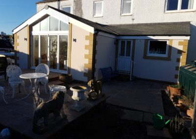 Extension front and back, Coldingham